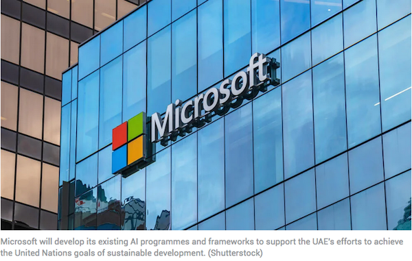 Microsoft Explores Its Opportunities With UAE's Digital Transformation